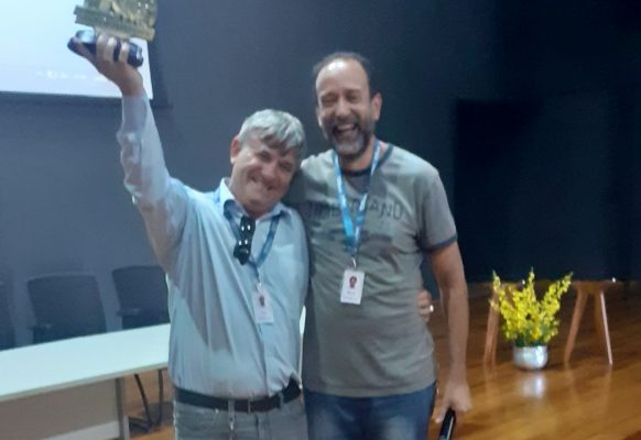 Olimpiada do Conhecimento – Senai Linhares – Gerente Jose Braz – unidade Linhares e coordenador olimpíadas